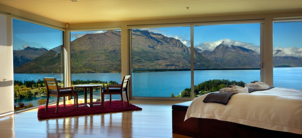 Accommodation in the north south island of new zealand for 5 the terrace queenstown